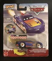Disney Pixar Cars Rocket Racing Barry DePedal with Blast Wall.