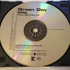 Green Day Holiday Promo CD Single 2004 Reprise Records