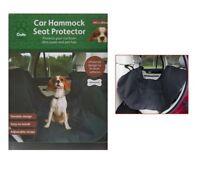 CRUFTS WATERPROOF CAR REAR BACK SEAT COVER PET DOG CAT PROTECTOR HAMMOCK LINER