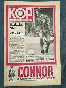 Liverpool FC  -  KOP Newspaper  -  December 6th 1967  -  Issue No 33