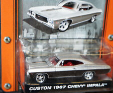 limited 1967 67 CHEVY IMPALA MUSCLE CAR GARAGE SERIES 1/64 SCALE GREENLIGHT