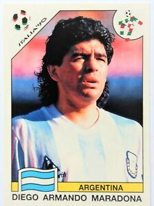 Panini World Cup 1990 - Sticker Diego Maradona #224 - World Cup Story 1990 RARE