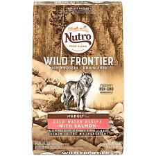 NUTRO WILD FRONTIER  Adult Cold Water Recipe Grain Free Salmon Dry Dog Food 24 P