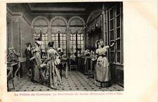 CPA PARIS EXPO 1900 - Le Palais du Costume. La Marchande de Modes (308611)