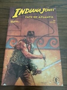 Indiana Jones AND THE FATE OF ATLANTIS #1 March 1991 Dark Horse Comics