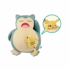 Pokemon ichiban kuji Snorlax Toy plush doll HEY Pikachu and Friends Prize Japan