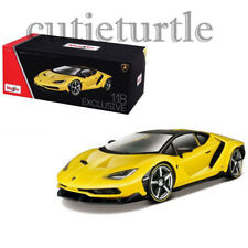 Maisto Lamborghini Centenario 1:18 Diecast Model Exclusive Edition 38136 Yellow