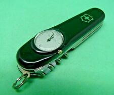 Black Victorinox Timekeeper 91mm Swiss Army Knife