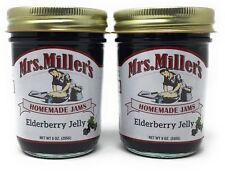Mrs Millers Elderberry Jelly (Amish Made) ~ 2 / 9 Oz. Jars, SHIPS FREE