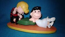The Danbury Mint ~ 1994 ~ Peanuts ~ Lovestruck Lucy