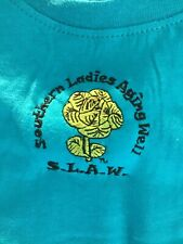 BULK LOT of Ladies T-shirts Trademark: SLAW Southern Ladies Aging Well - Cotton