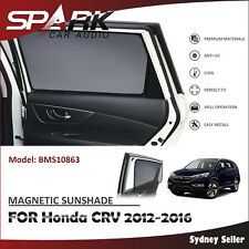 CT MAGNETIC CAR WINDOW SUN SHADE BLIND MESH REAR DOOR FOR Honda CRV CR-V 2012-16