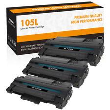 3PK MLT-D105L Toner Cartridge Compatible for Samsung 105L SCX-4623F ML-1910 2545