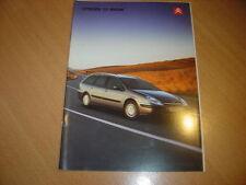 CATALOGUE Citroën C5 Break de février 2002