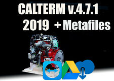 2019 Calterm 4.7.1 + MetaFiles Calibration files (ECFG, E2M)