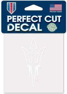 Arizona State Sun Devils 4x4 Perfect Cut Decal Sticker Car Truck Auto FAST SHIP