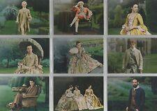 "Outlander Season 2 - ""Versailles"" 9 Card Rainbow Foil Parallel Chase Set #V1-9"