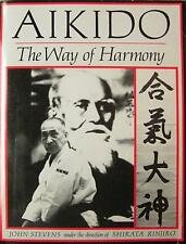 1984 AIKIDO THE WAY OF HARMONY BLACK BELT KARATE JIU-JITSU JUDO MARTIAL ARTS