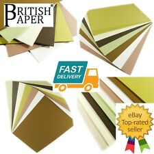 A5 A4 COLOURED CRAFT CARDS STOCK PRINTER PAPER GLITTER PEARLESCENT KRAFT BLANKS
