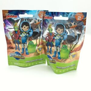 DISNEY JUNIOR MILES FROM TOMORROWLAND LOT OF 2 BLIND FIGURE PACKS BRAND NEW