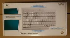 Logitech Cordless Keyboard for Wii, English US layout, new, sealed