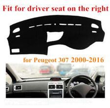 Car Dashboard Mat Dash Cover Sun Shade Dashmat for Peugeot 307 2000-2016