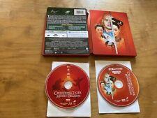 Crouching Tiger Hidden Dragon 4K Ultra Hd/Blu ray*Steelbook*2 Disc*No Digital*