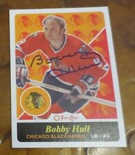 Bobby Hull Golden Jet NHL Chicago Blackhawks signed autograph trading card