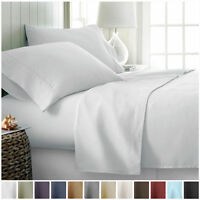 Hotel Collection 1800 Series Egyptian Comfort 4 Piece Deep Pocket Bed Sheet Set
