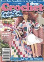 Crochet Digest Summer 1996 CROCHET FUN FOR FASHION DOLLS Doll Quilt & More