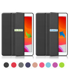 For iPad 7th 6th 5th Gen 2018 10.2 new iPad Thin Smart Pencil Holder Case Cover