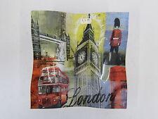 LESSER AND PAVEY VIDRIO DECORATIVO PLATO CON A LONDRES diseño Artículo: lp17963