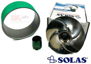 Seadoo 2008 Rxt-X 255 Inoxydable Manche Usure Bague SOLAS Rotor SRX-CD-14/19