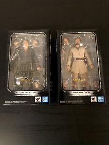 S.H. Figuarts Revenge of the Sith Anakin Skywalker and Obi-Wan Kenobi