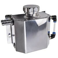 1L Aluminum Coolant Radiator Overflow Recovery Water Tank Can Bottle Universal