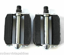PEDALS PAIR LADIES MENS ROAD BICYCLE BIKE Vintage RETRO DRAGSTER LOWRIDER 9/16""