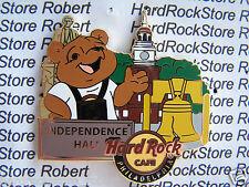 2014 HARD ROCK CAFE PHILADELPHIA NATIONAL PARK BEAR SERIES/INDEPENDENCE HALL PIN