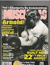 MUSCLEMAG Bodybuilding Magazine/ARNOLD SCHWARZENEGGER/Trish Stratus 4-06 #286