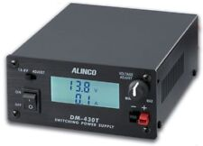 Alinco DM-430T Variable Voltage (5-15 VDC) 30A Switching PSU w/ PowerPole Conn.