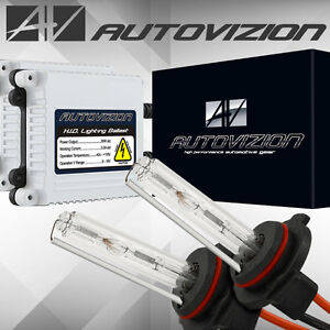 AUTOVIZION Xenon HID Conversion Slim KIT 9006 6000k 8000k 10000k Headlight Fog
