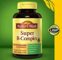 Nature Made Super B-Complex with Vitamin C & Folic Acid, 460 tablets