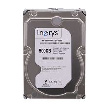 "i.norys interne Festplate 500GB 3,5"" SATA2 Desktop PC HDD 7200RPM, 8MB Cache"