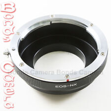 Canon EOS EF EF-S lens to Samsung NX mount adapter NX10 NX5 NX100 NX200 NX20