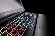"""Venom Blackbook 15 - I7-7700HQ, 32GB, 250GB SSD+1TB, 15.6"""" FHD, GTX-1060-6GB"""