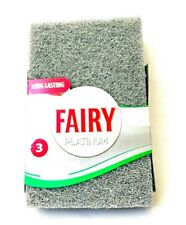Pack Of 3 Fairy Platinum Super Powerful Scouring Pad