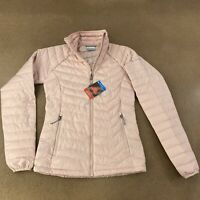 Columbia Omni Heat Women's Size XS Pink Quilted Powder Lite Jacket NWT WK1498