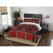 Cleveland Browns Nfl Queen 5 Piece Comforter Bedding Team Logo Bed in Bag Set