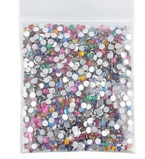 2000pcs DIY Women's Decors 3D Acrylic Nail Art Gems Crystal Rhinestones Beauty