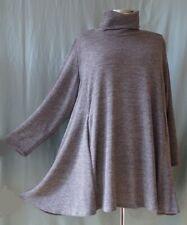 GW190 Damen Tunika XXL Shirt Blau und keltisches MusterÜbergröße 62 64 66 68 70