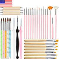 DIY Gel Nail Brush Set Painting Drawing Pen Liner Brush Nail Art Manicure Tool